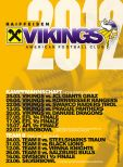 Vienna Vikings Football Club (Saisonplakat)